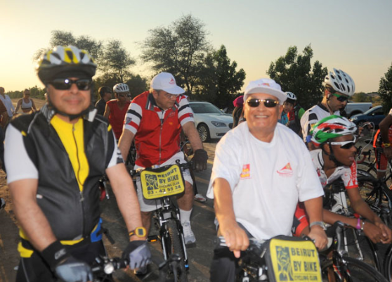 Dr. Mahveer Mehta Dermatologist in dubai for Cycling for Charity cause